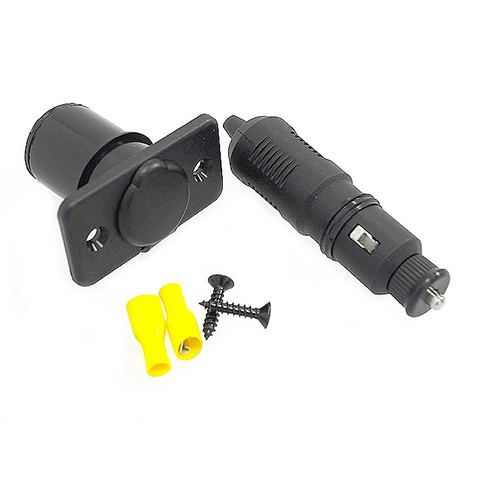 Прикуриватель c LED индикатором с розеткой