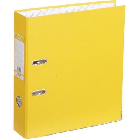 Папка-регистратор Bantex Economy Plus 80 мм желтая