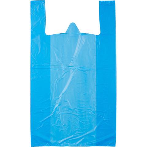 Пакет-майка ПНД цветной 25 мкм (38+20х68 см, 100 штук в упаковке)