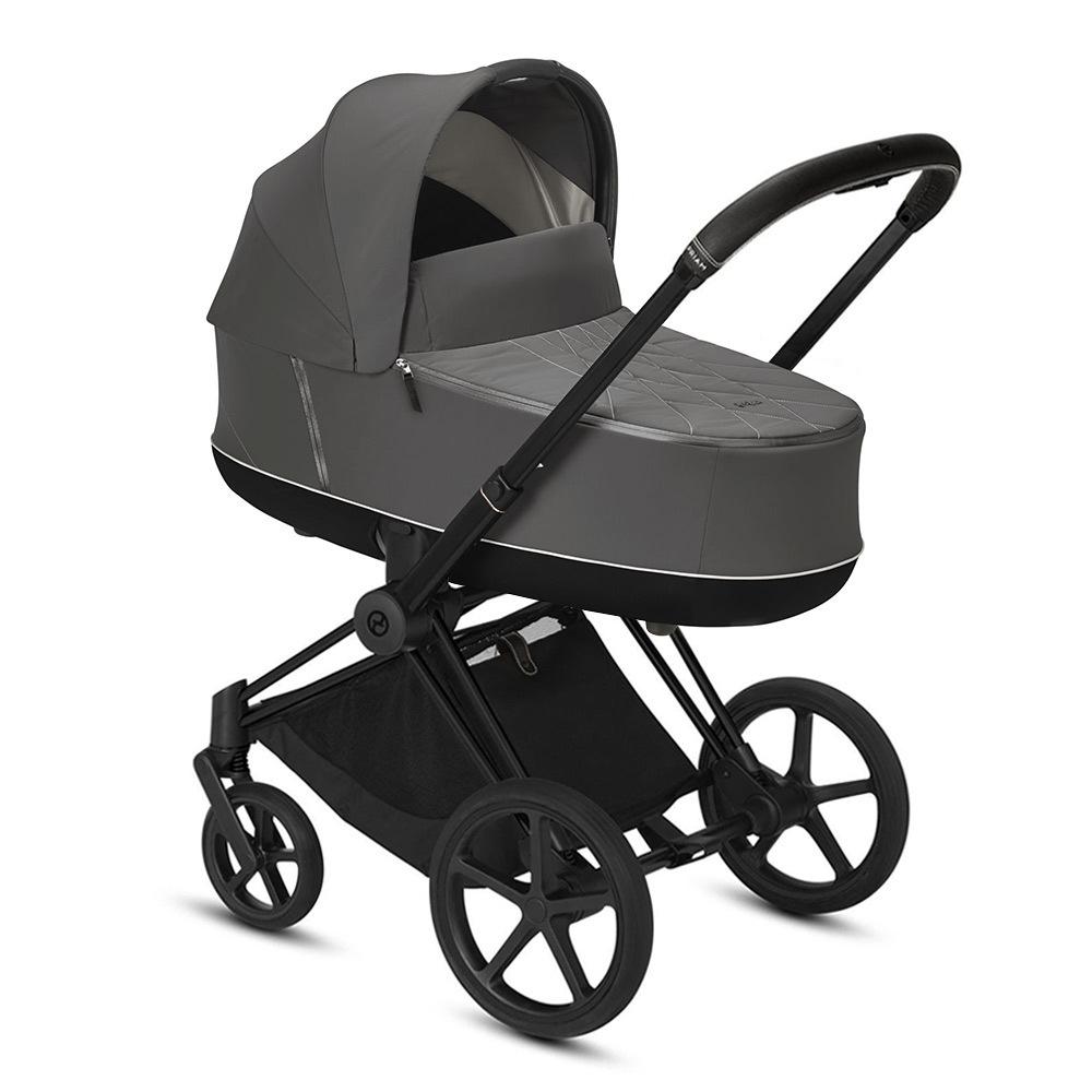 Цвета Cybex Priam для новорожденных Коляска для новорожденных Cybex Priam III Soho Grey Matt Black cybex-priam-iii-soho-grey-matt-black.jpg