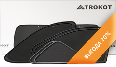 Каркасные автошторки на магнитах для ALFA ROMEO 159 (2005-2012). Полный комплект из 5 экранов