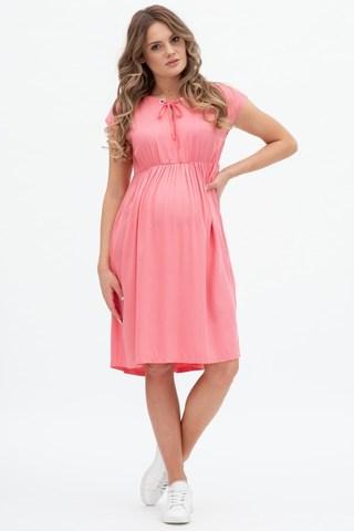 Платье для беременных 11555 розовый