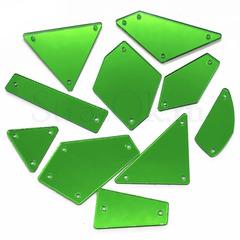 Оптом купить пришивные зеркала зеленого цвета Green в интернет-магазине