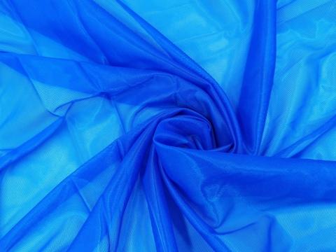 Корсетная сетка, ярко-синий, мягкая,  (Арт: KS-1365.M)