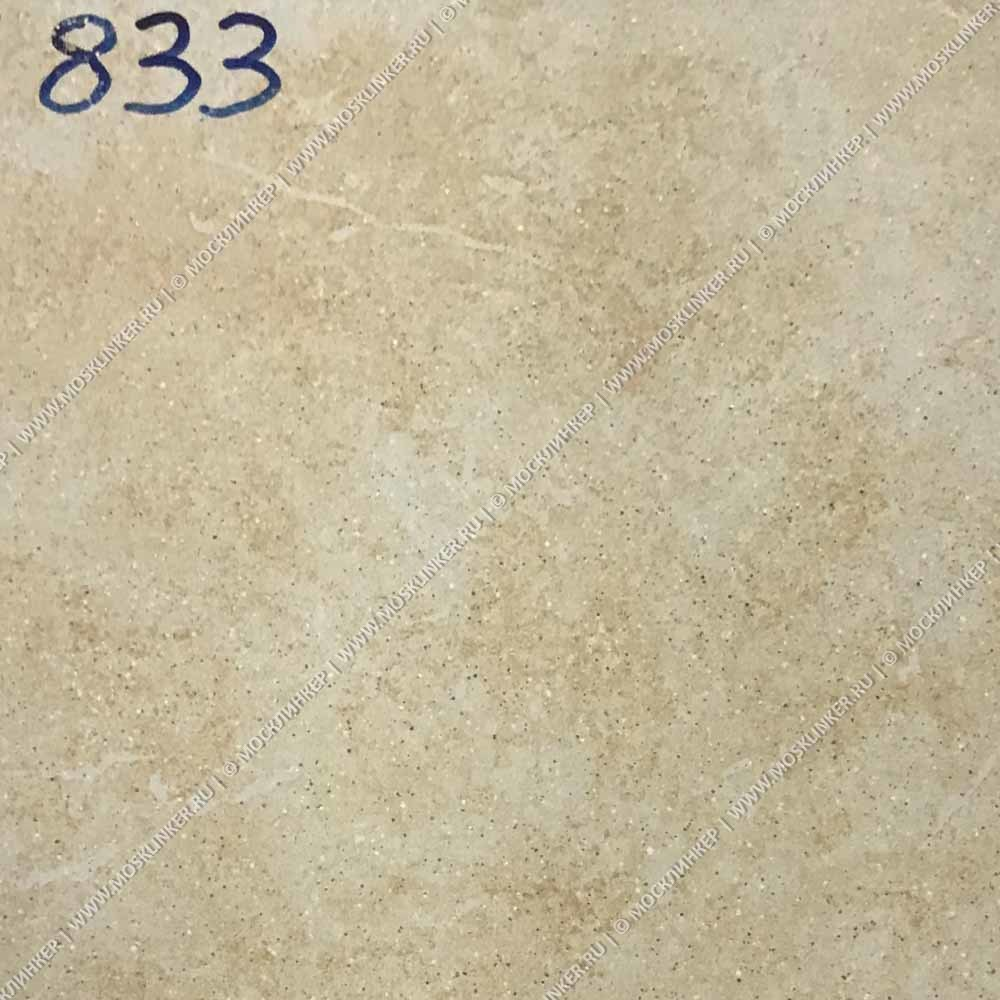 Stroeher - Keraplatte Roccia 833 corda 340x294x12 артикул 9340 - Клинкерная ступень - флорентинер