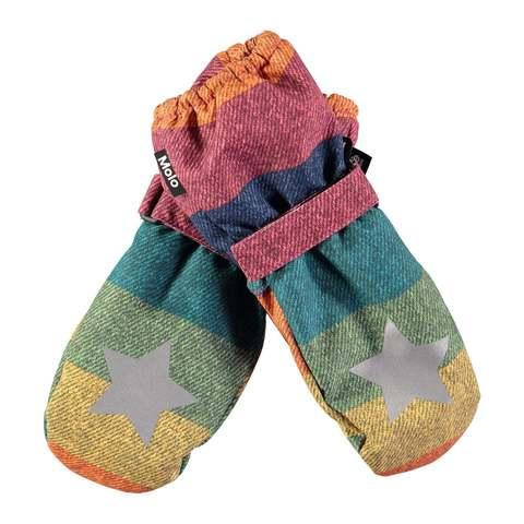 Варежки Molo Igor Denim Rainbow купить в интернет-магазине Мама Любит!
