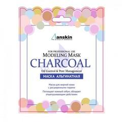 Маска альгинатная для жирной кожи с расширенными порами Modeling Mask CHARCOAL 9саше) 25 г