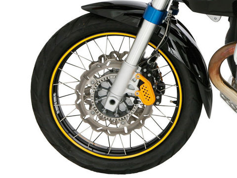 Стикеры для обода колеса - желтый