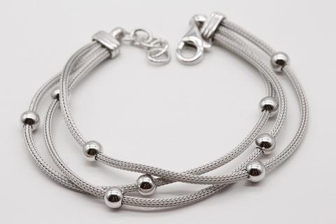Браслет из серебра 925 пробы без камней 5002500010 Италия