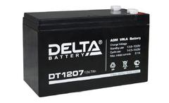 Аккумулятор Delta DT 1207 12В 7Ач
