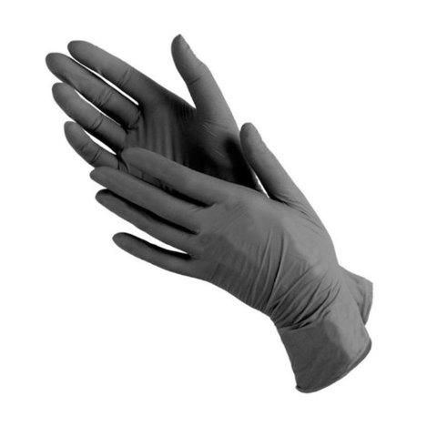 Перчатки нитрил MDC (TN971XL) XL-size черного цвета 200 пар/уп