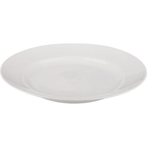 Тарелка обеденная Добруш фарфоровая белая 240 мм (артикул производителя 4С0170Ф34)