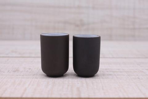 Чашка для аромата глина темная, керамика, 20мл