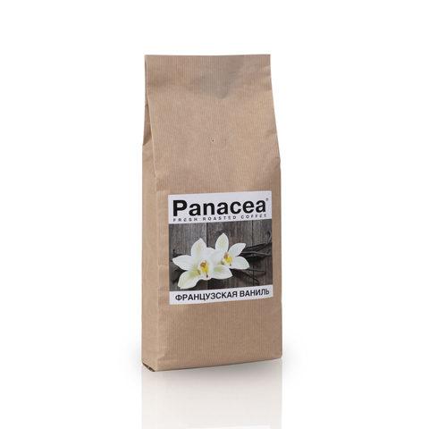 Ароматизированный кофе в зернах Panacea.Французская ваниль