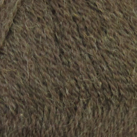Пряжа Монгольский верблюд Пехорка 17 Шоколад