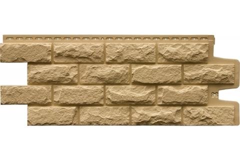 Фасадные панели GRAND LINE Колотый камень Премиум Песочная