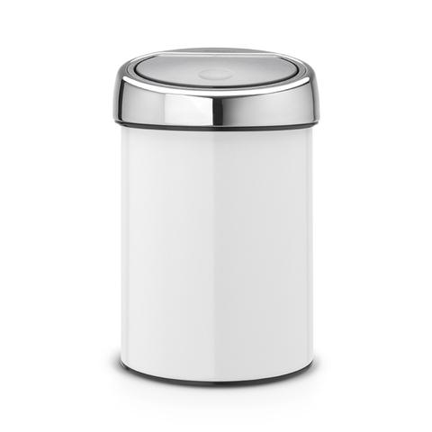 Мусорный бак Touch Bin (3 л), артикул 364488, производитель - Brabantia