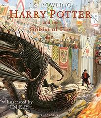 Harry Potter & the Goblet of Fire - illustrated...
