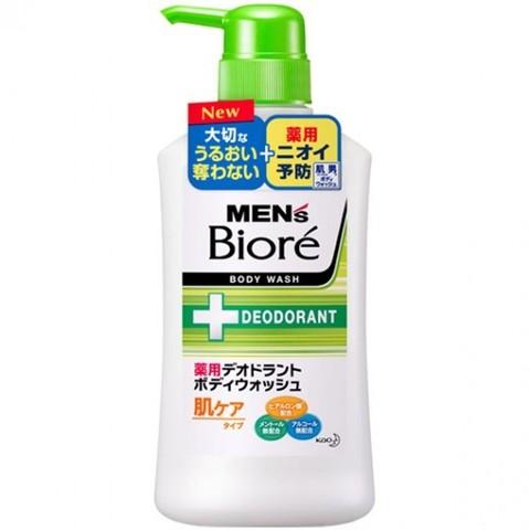 Мужское мыло для тела Kao с дезодорирующим эффектом и цветочным ароматом 440 мл