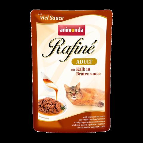 Animonda Rafinе Adult Консервы для кошек с телятиной в жареном соусе (пауч)