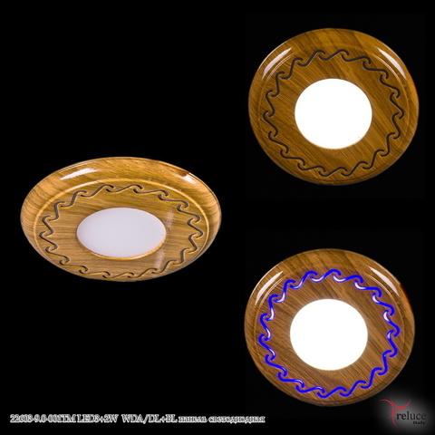22603-9.0-001TM LED3+2W WDA/DL+BL панель светодиодная