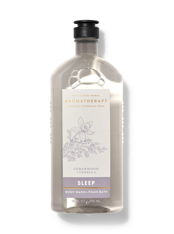 Гель для душа Bath&BodyWorks Aromatherapy Sleep Cedarwood + Vanilla 295 мл