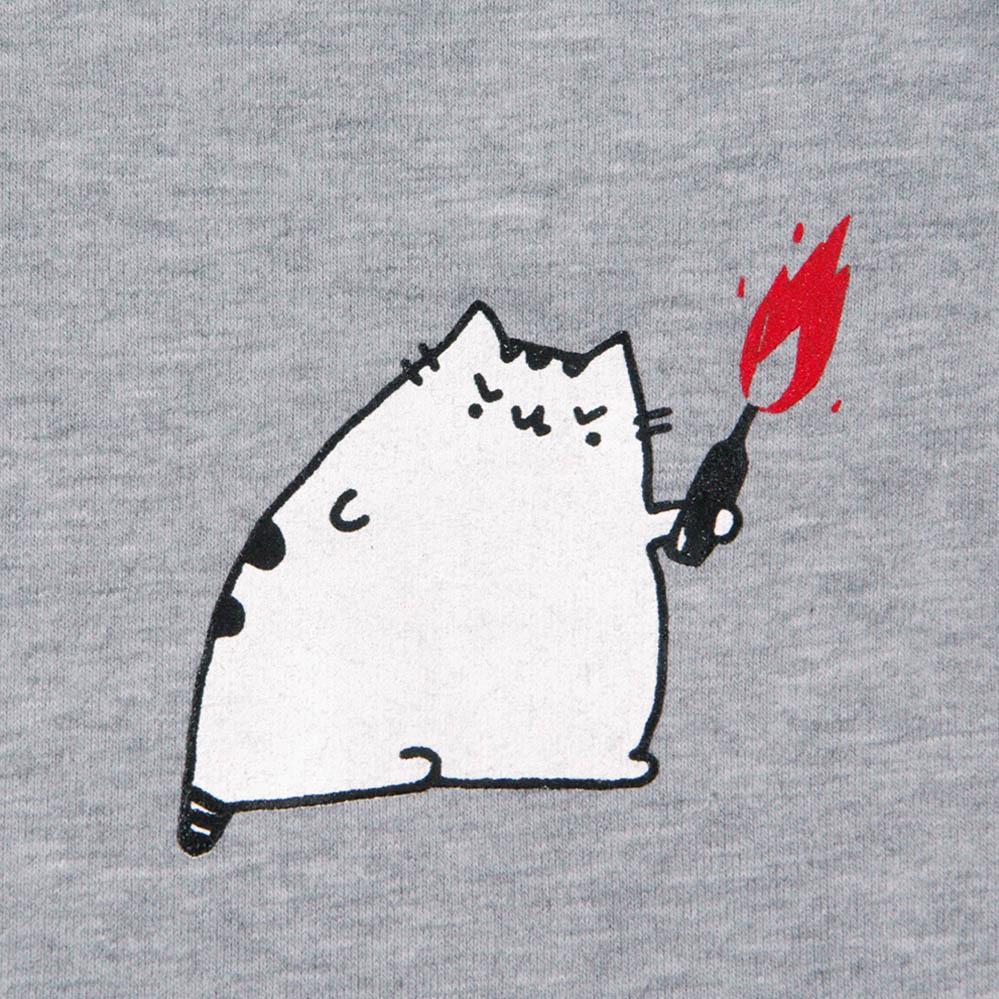 Кот молотова Old / худи