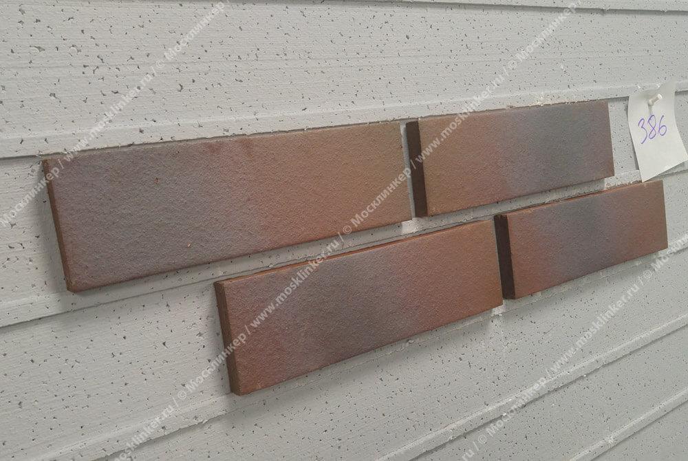 Feldhaus Klinker - R386NF14, Galena Cerasi Maritim Negro, 240x14x71 - Клинкерная плитка для фасада и внутренней отделки