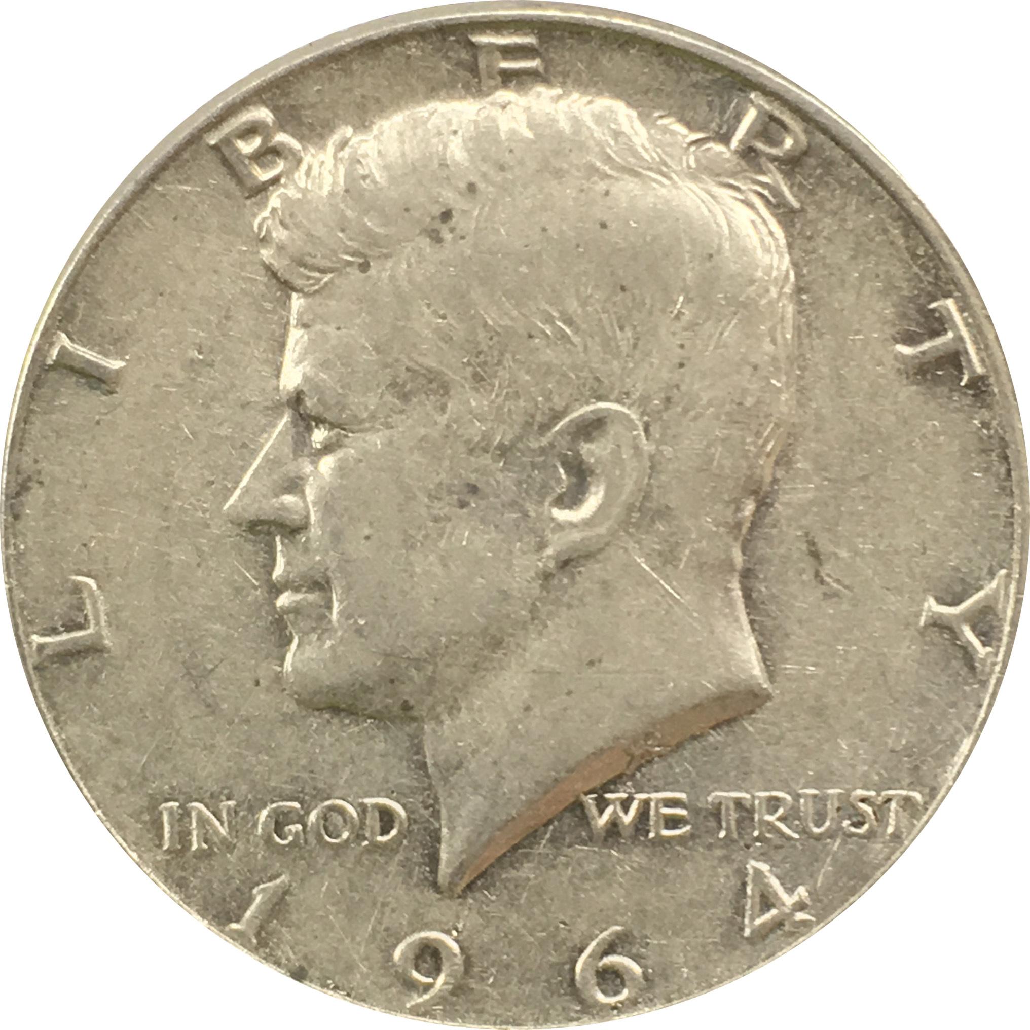 50 центов 1964 год. Кеннеди (без двора)