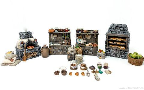 Средневековая пекарня