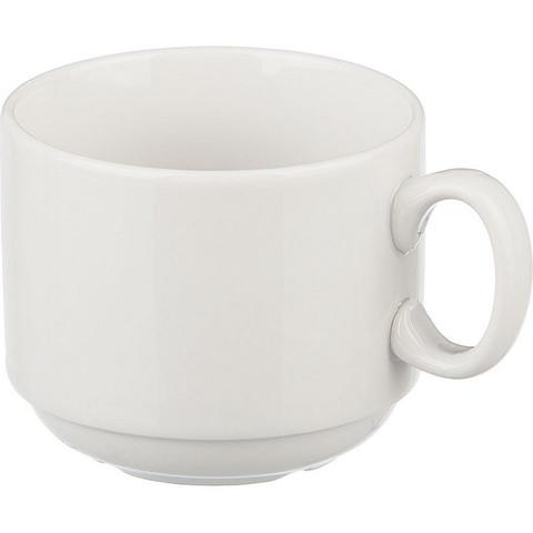 Чашка Добруш Эспрессо фарфоровая белая 220 мл (артикул производителя 6С0140Ф34)