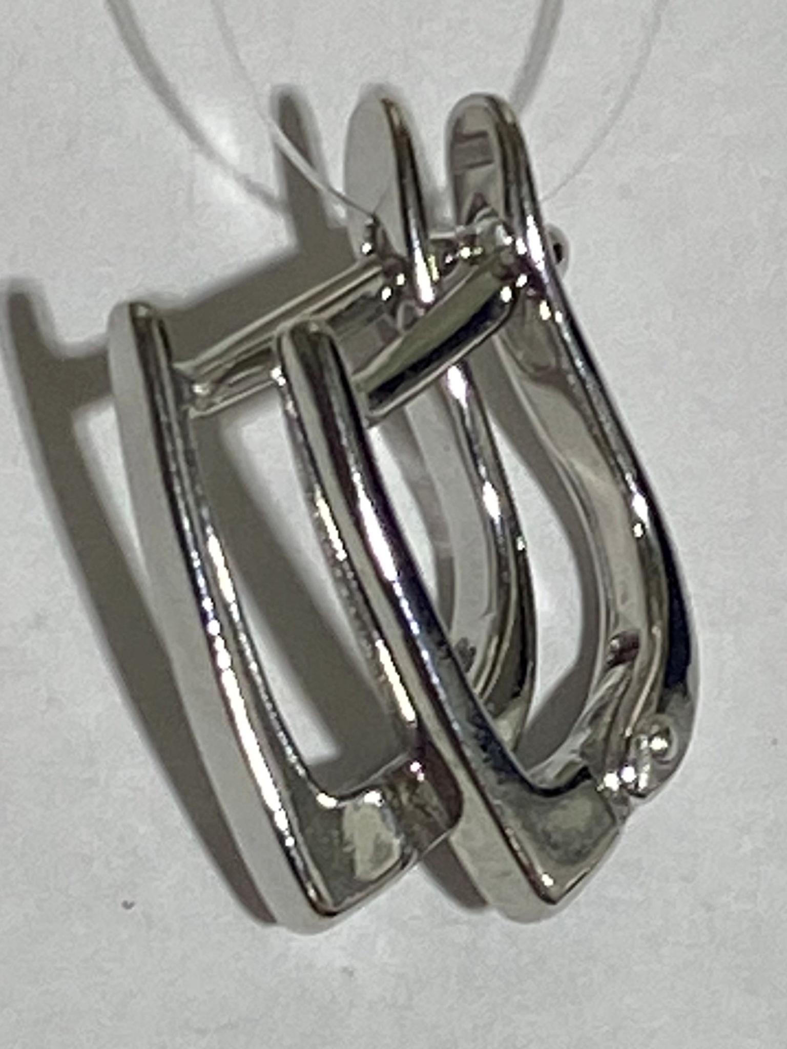 Швенза П (серьги из серебра)