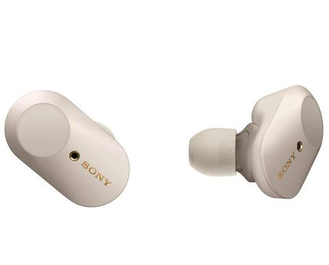 WF-1000XM3S беспроводные наушники Sony, цвет серебристый