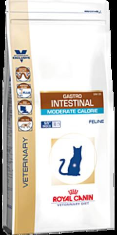 Gastro Intestinal Moderate Calorie GIM35 - для кошек при нарушении пищеварения