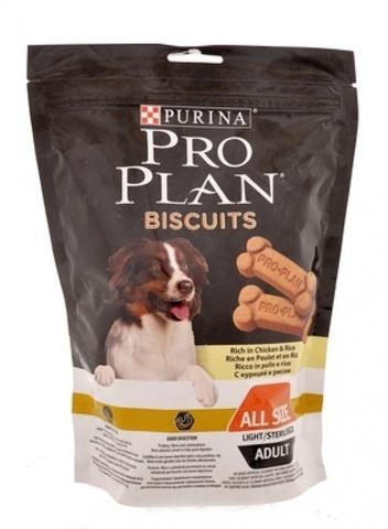 PURINA PRO PLAN Лакомство для собак бисквиты с курицей и рисом Biscuits