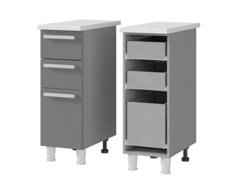 Шкаф-стол с 3-мя ящиками (300*820*600) 3Р3