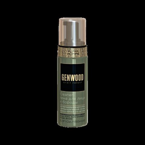 Cleaner-пена для лица и бороды Genwood, 150 мл