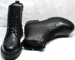 Стильные ботинки демисезонные женские кожа Misss Roy 252-01 Black Leather.