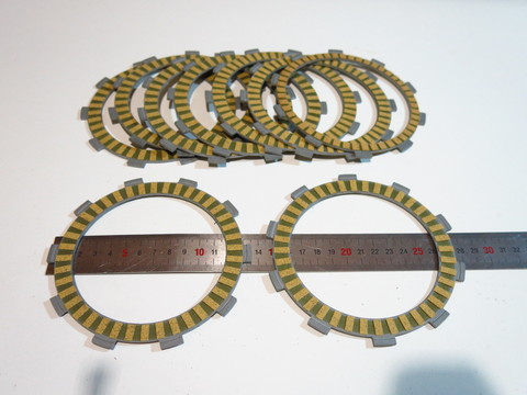 диски сцепления 8+1шт Honda VFR700F 1986-1996 Honda CB600 1998-2006