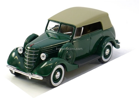 GAZ-11-40 with awning green 1:43 Nash Avtoprom
