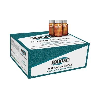 Natural Project Iodase Actisom: Концентрированная сыворотка Актисом против запущенного целлюлита (Iodase Actisom Soluzione), 10*10мл