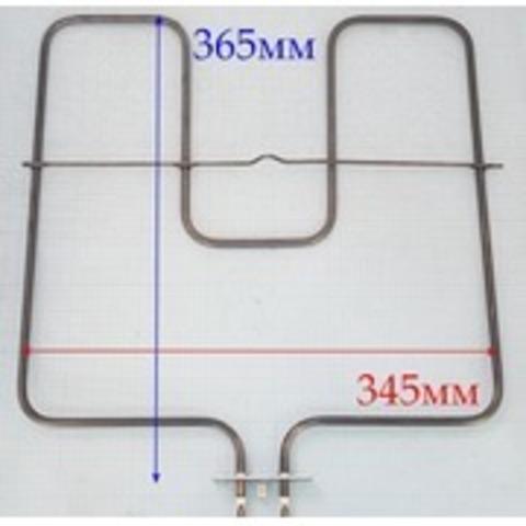 Тэн  нижний, М-образный, широкий для жарочных шкафов стационарных плит Ардо