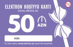 Elektron hədiyyə kartı 50 AZN