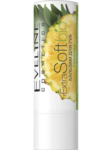 Бальзам для губ Pineapple EXTRA SOFT bio