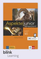 Aspekte junior B1.2+, Kursbuch DA fuer Unterric...