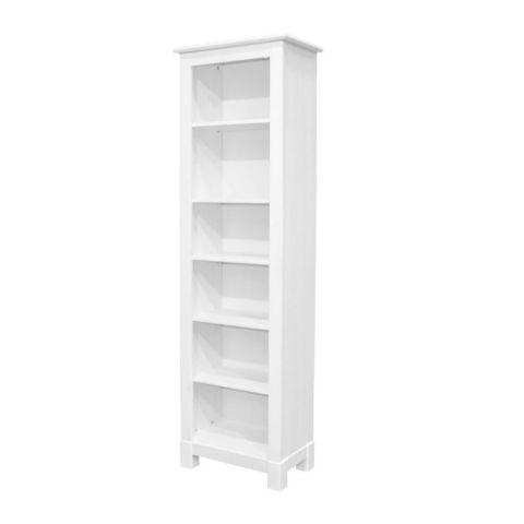 Шкаф для книг 00 Рауна (белый воск)