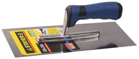 STAYER Eхpert 130х280 мм, гладилка штукатурная нержавеющая c двухкомпонентной ручкой
