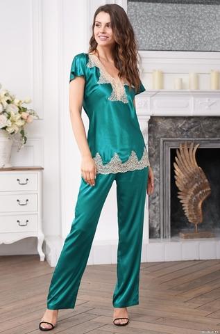 Шелковая пижама Mia Amore Deluxe (70% натуральный шелк)