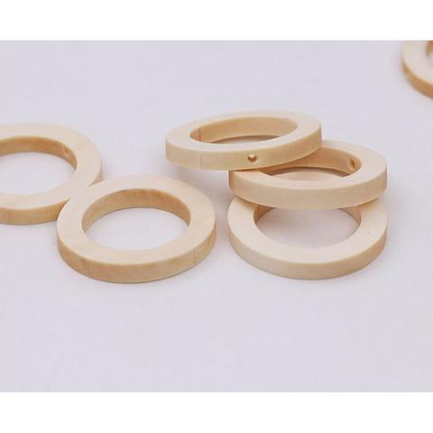 Кольцо-бусина разделитель из можжевельника