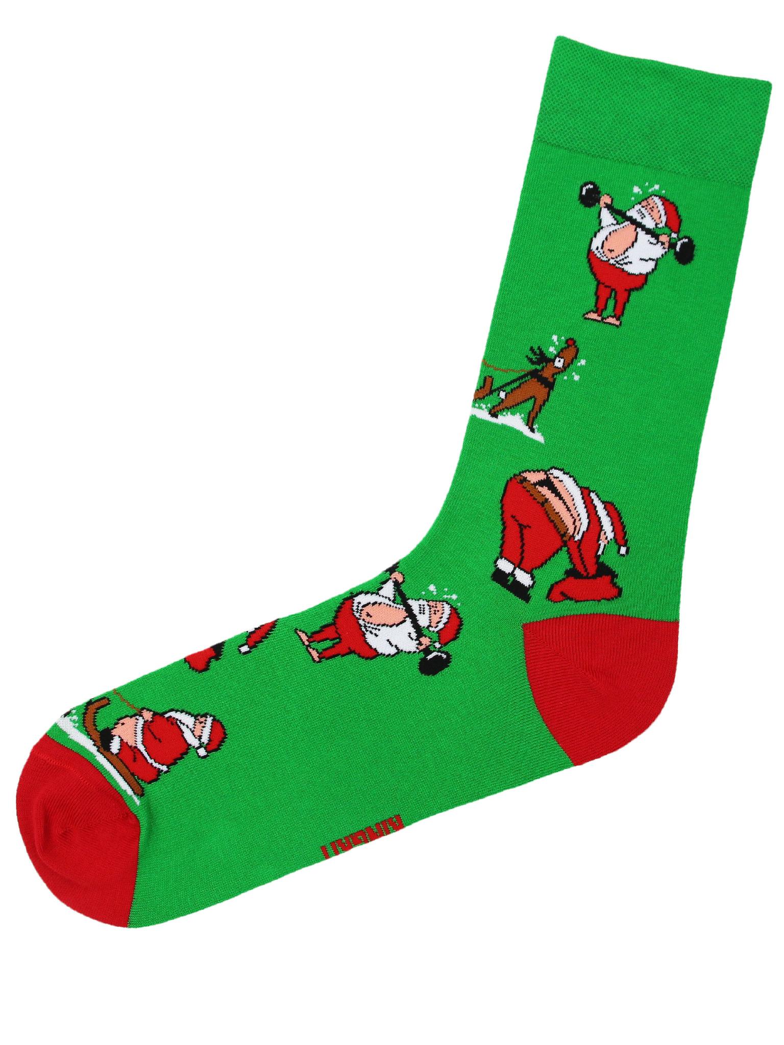 Санта зеленый